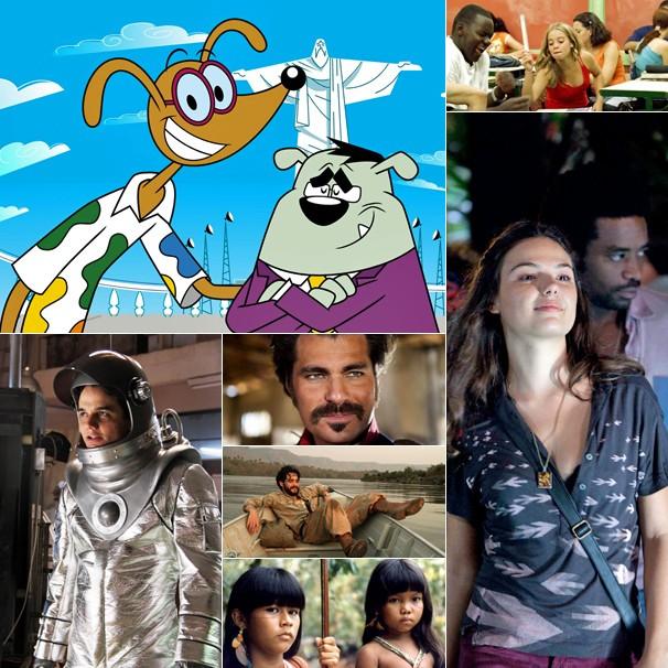 'Brasil Animado', 'Pro Dia Nascer Feliz', 'Faroeste Cabloco', O Tempo e o Vento', 'O Homem do Futuro', 'Tainá 2' e 'Xingu' estão na programação do Projeto Pipoca (Foto: Divulgação)