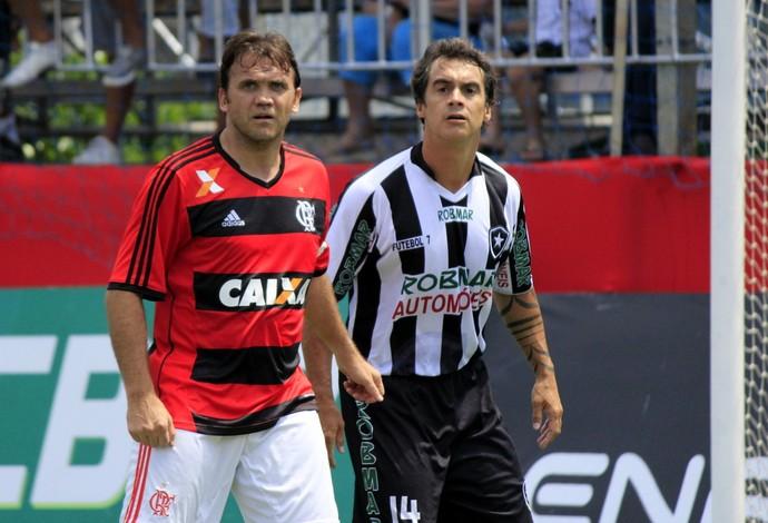 Petkovic atuando ao lado de Bruno Carvalho (Foto: Davi Pereira/JornalF7.com)