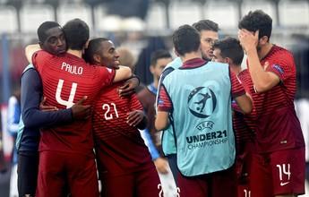 Portugal goleia a Alemanha e enfrenta a Suécia na decisão da Euro Sub-21