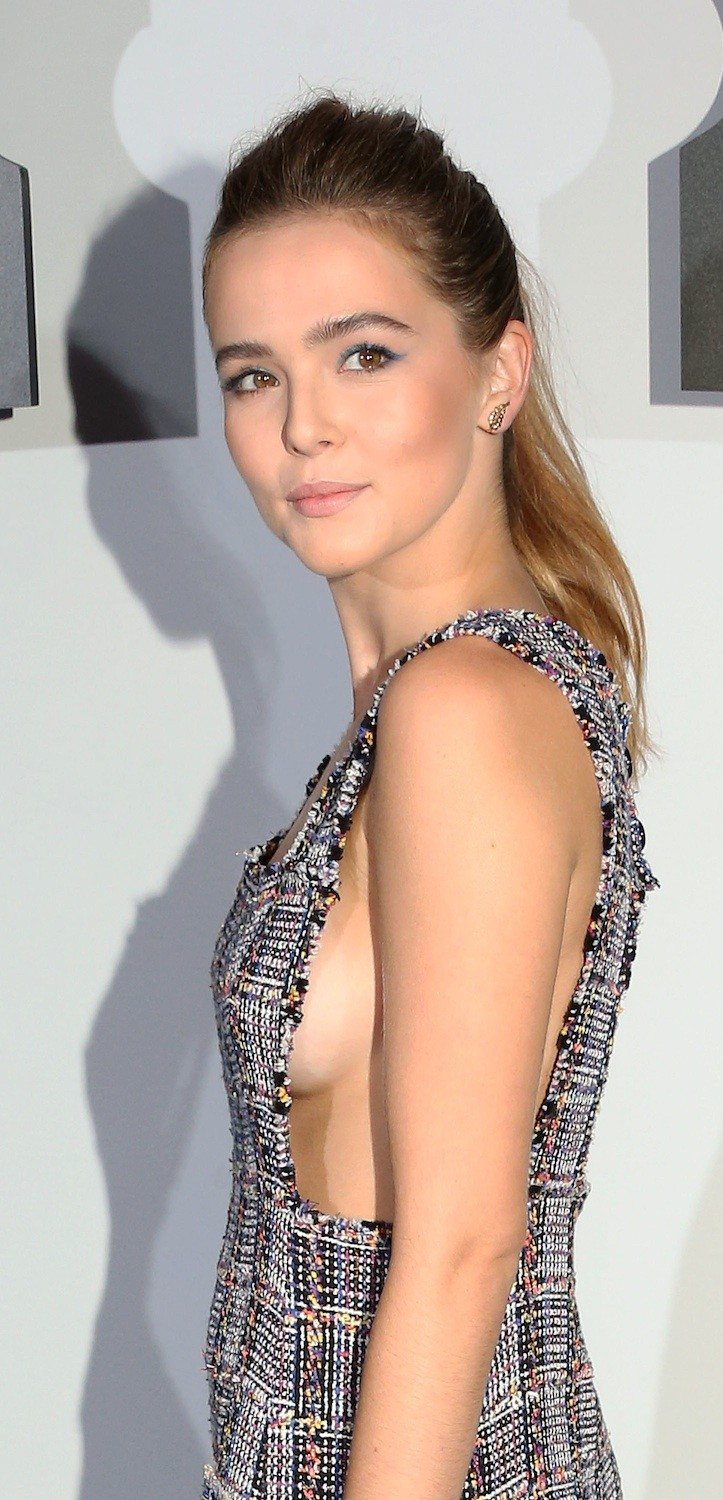 zoeydeutchsideboobchanella3 (Foto: Getty)