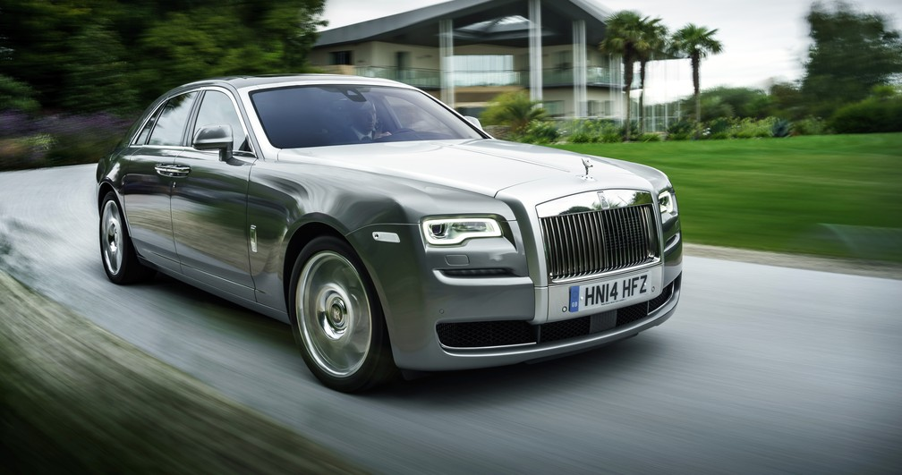 Rolls-Royce Ghost II (Foto: Divulgação)