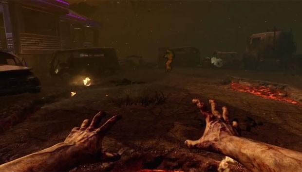 """Jogador se torna um zumbi na primeira expansão de """"Black Ops II"""", """"Revolution"""" (Foto: Divulgação)"""