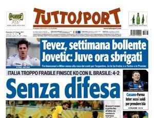 Tutto Sport jornal italiano (Foto: Reprodução)