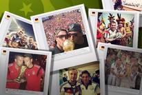 As fotos publicadas pela seleção alemã na Copa (Infoesporte)