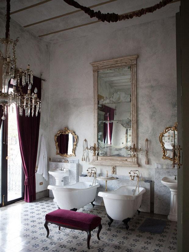 Décor do dia: sala de banho luxuosa (Foto: Divulgação)