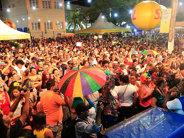 Baile de Máscaras abriu o Carnaval Multicultural de Natal (Foto: Canindé Soares)