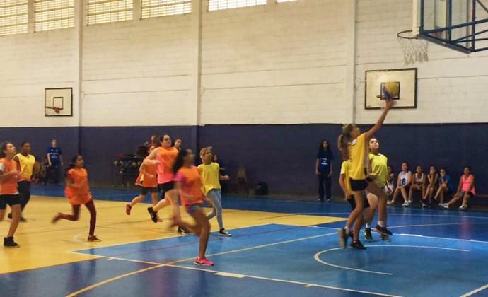 Festival de basquete feminino em São José dos Campos (Foto: Divulgação)