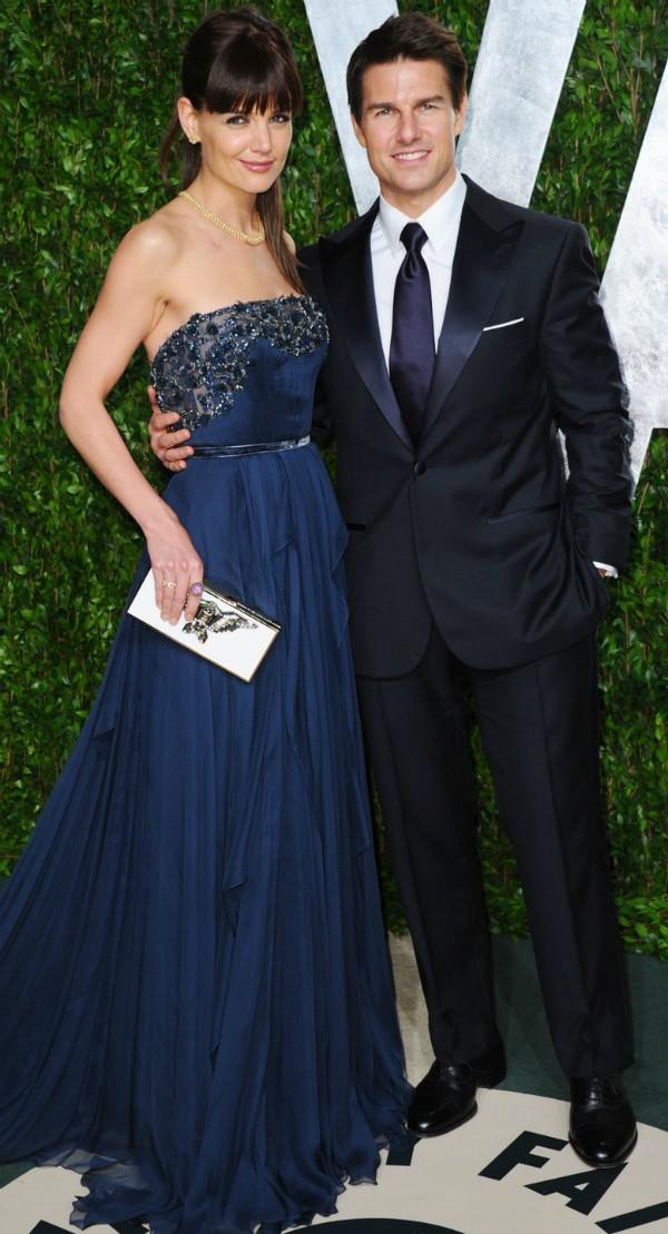 Tom Cruise e Katie Holmes foram casados entre 2006 e 2012 (Foto: Getty Images)