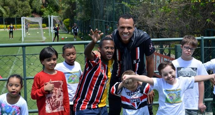 Luis Fabiano São Paulo (Foto: Erico Leonan / site oficial do São Paulo FC)