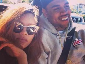 Rihanna e Chris Brown (Foto: Instagram / Reprodução)