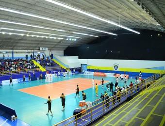 Ginásio Tênis Clube - São José dos Campos-SP (Foto: Felipe Kyoshy/GloboEsporte.com)