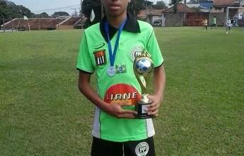 Em torneio regional, atleta de 12 anos soma mais gols do que todos os times