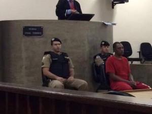 julgamento lorismar Uberlândia (Foto: Luis Corvini/G1)