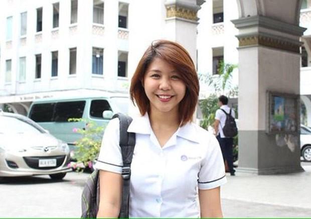 Universitária morreu ao cair de prédio enquanto fazia selfie nas Filipinas (Foto: Reprodução/Twitter/Clare Reyes)