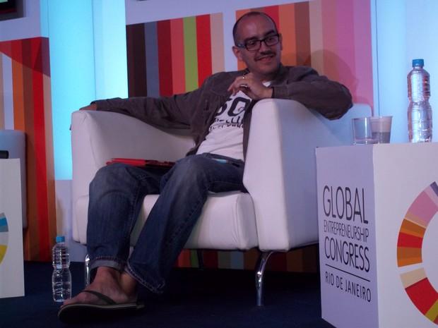 Dave McClure, fundador da 500 Startups (Foto: Lilian Quaino/G1)