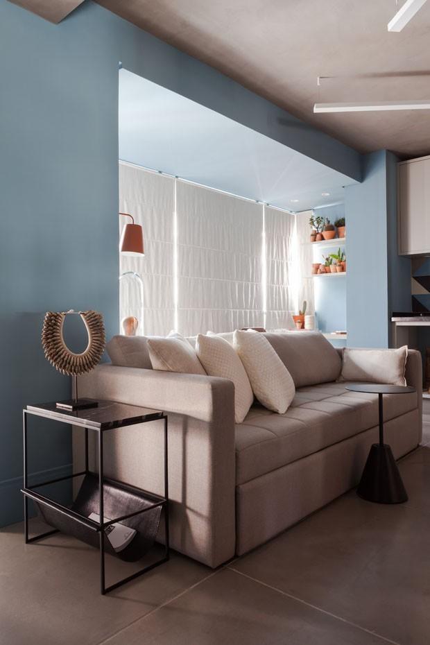 apartamento-azul-renato-mendonça (Foto: Divulgação)