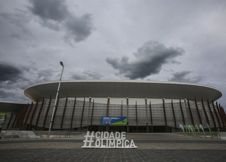 Arena Carioca 1, casa do basquete no Rio 2016 (Foto: EFE/ Antonio Lacerda)