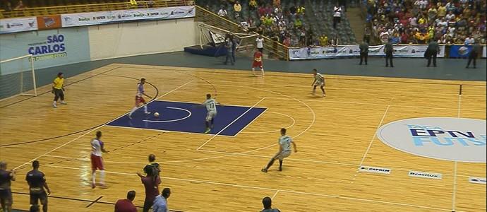 Taça EPTV: Porto Ferreira x Nova Europa (Foto: Reprodução/EPTV)