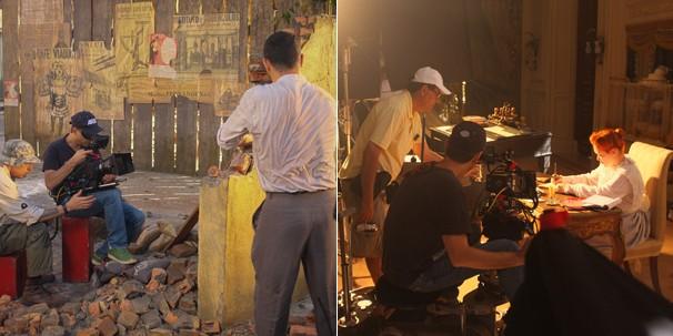 O surgimento das favelas e a aristocracia carioca no início do século XX, no Rio de Janeiro (Foto: TV Globo)