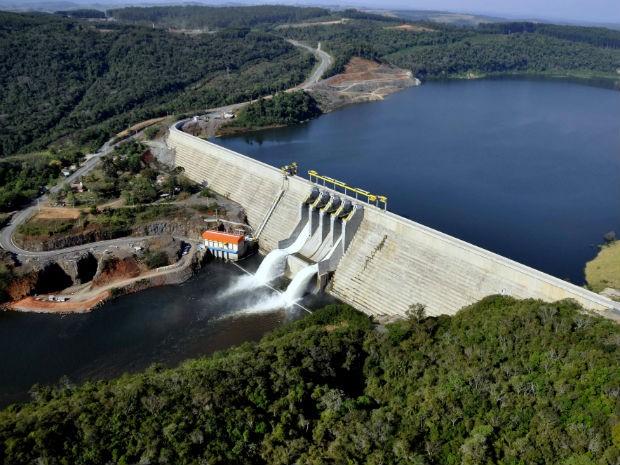 Obras da Usina de Mauá começaram em 2008 (Foto: Divulgação/Copel)