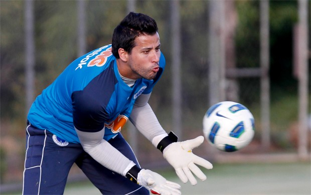 F&#225;bio, goleiro do Cruzeiro (Foto: Washington Alves / VIPCOMM)