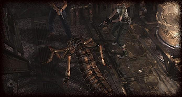 Resident Evil Zero HD Remaster: Handgun pode não ser uma boa ideia contra os Crawlers (Foto: Divulgação/Capcom)