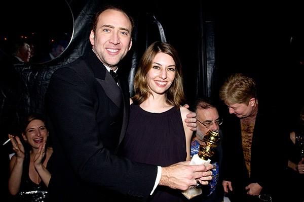 Nicolas Cage e Sofia Coppola (Foto: Getty Images)