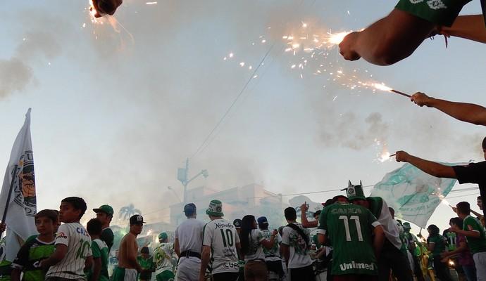 Chapecoense x San Lorenzo (Foto: Laion Espíndula)