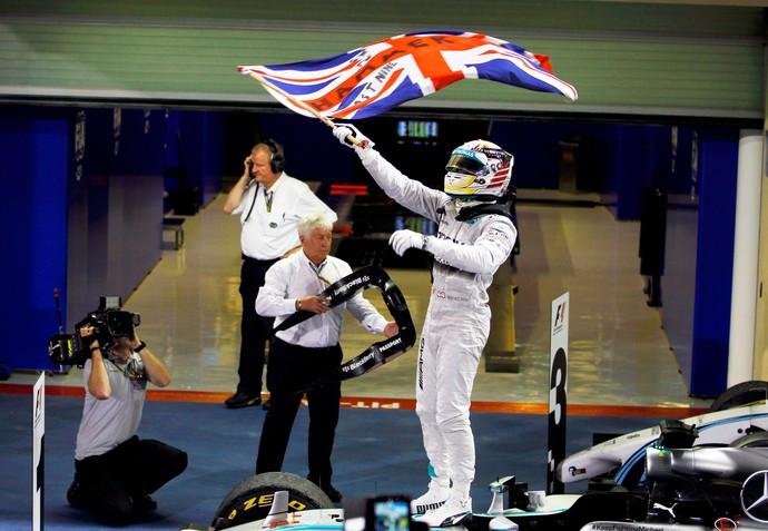 Lewis Hamilton F1 GP Abu Dhabi (Foto: Reuters)