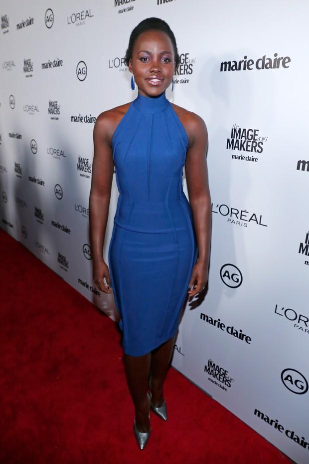 Lupita Nyong'o em evento em Los Angeles, nos Estados Unidos (Foto: Rich Polk/ Getty Images/ AFP )