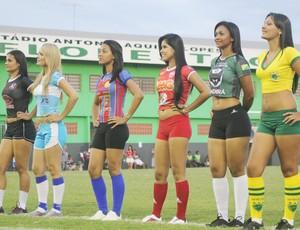 Antes da final do Torneio Início terá a escolha da musa da competição (Foto: João Paulo Maia)