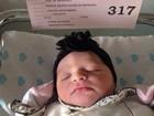 Nasce a filha do jogador Adriano com ex-namorada Renata Fontes