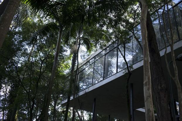 """Casa de Vidro de Lina Bo Bardi recebe exposição """"Casas de Vidro"""" (Foto: Casa de Vidro (projeto 1949-51), Lina Bo Bardi)"""