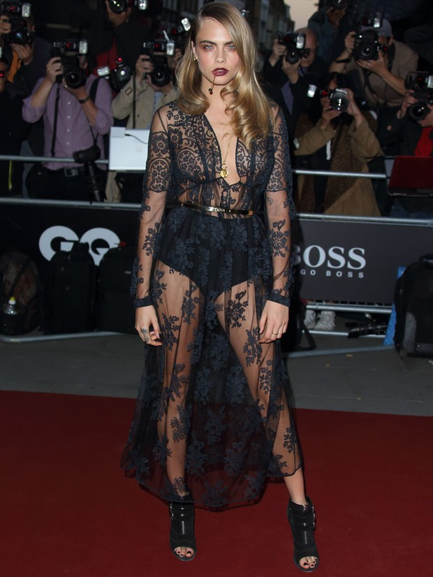 MODA - GQ Men of the Year - Cara Delevingne (Foto: Getty Images)