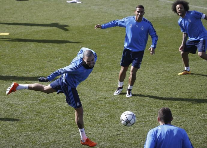 Treino Real Madrid (Foto: Efe)