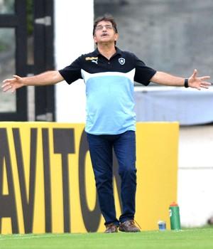 René Simões, Botafogo X Boa Vista (Foto: Andre Durão)