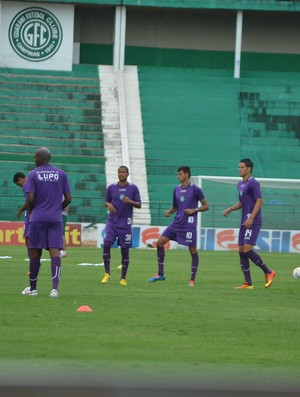 Guarani treina no Brinco de Ouro (Foto: Murilo Borges)