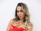 De lingerie, Mulher Melão declara seu amor ao Flamengo: 'É religião'