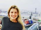 Otaviano Costa posta foto antiga de Flávia Alessandra: 'Hoje é o dia dela'
