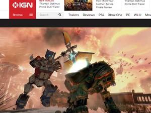 Brincadeira coloca Optimus Prime, de 'Transformers', em game com robôs 'Titanfall' (Foto: Reprodução/IGN)