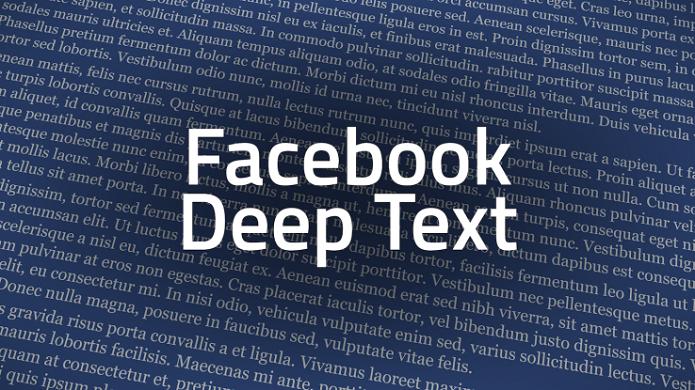DeepText é a nova inteligência artificial do Facebook (Foto:Reprodução/TechCrunch)