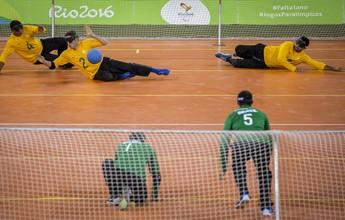 Arena do Futuro recebe evento-teste de goalball após problemas com odor