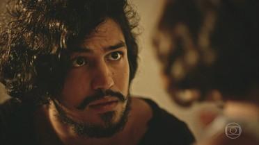 Miguel se preocupa com tristeza de Olívia