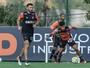 Depois de um mês, meia Dátolo volta a treinar com o grupo do Atlético-MG