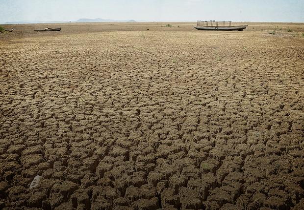 Região do Remanso, na Bahia, atingida pela pior seca do país em 100 anos (Foto: Marcello Casal Jr/Agência Brasil)