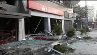 Bandidos explodem banco na região metropolitana do Rio