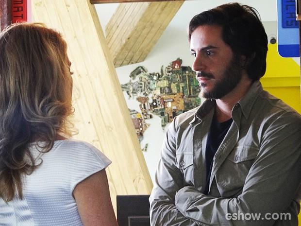 Pamela termina tudo com Herval (Foto: Geração Brasil / TV Globo)