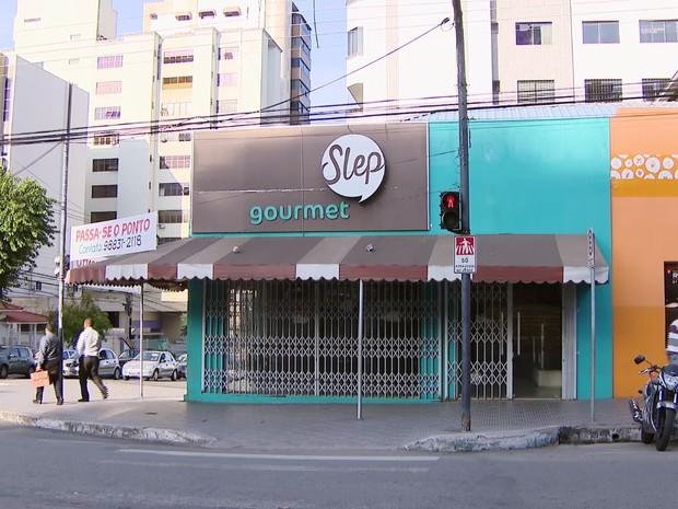 Sorveteria em Divinópolis  (Foto: TV Integração/Reprodução)