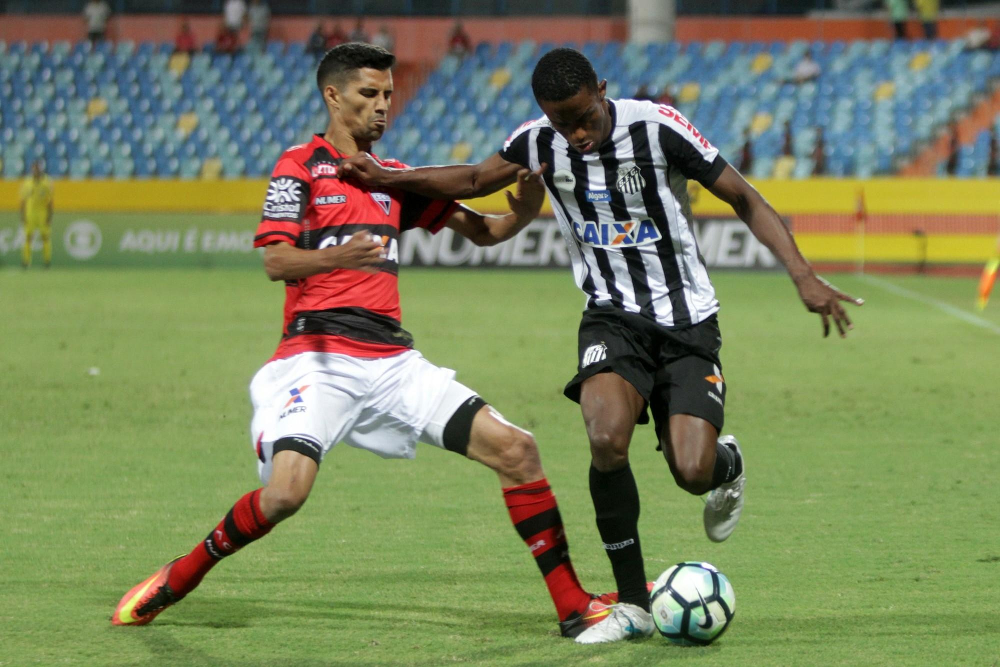 Atletico Go X Santos Campeonato Brasileiro 2017 Sportv