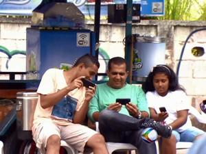 Barraca Internet Wi-Fi Juiz de Fora (Foto: Reprodução/TV Integração)